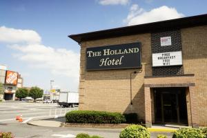 Holland Hotel Sign